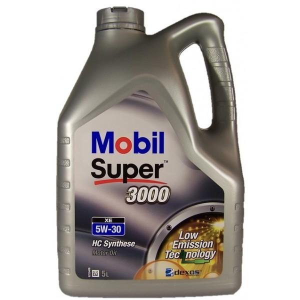 5L 5W-30 3000 XE Mobil Super